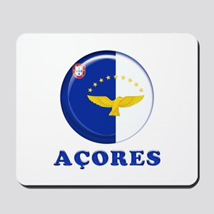 Azores islands flag Mousepad
