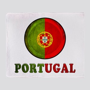 Portugal Throw Blanket