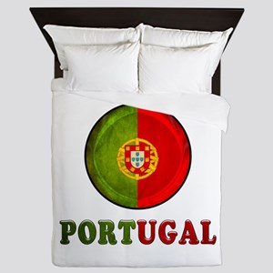 Portugal Queen Duvet