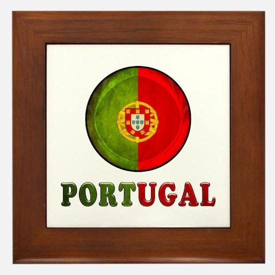 Portugal Framed Tile