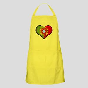 Portuguese heart Apron