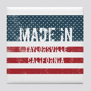 Made in Taylorsville, California Tile Coaster