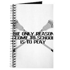 Lacrosse Only Reason Journal