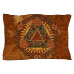 Celtic Pyramid Mandala Pillow Case
