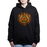 Celtic Pyramid Mandala Hooded Sweatshirt