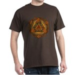 Celtic Pyramid Mandala Dark T-Shirt