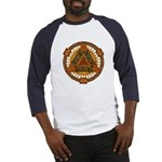 Celtic Pyramid Mandala Baseball Jersey