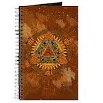 Celtic Pyramid Mandala Journal