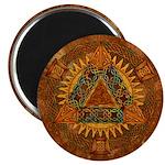 Celtic Pyramid Mandala Magnet