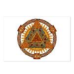 Celtic Pyramid Mandala Postcards (Package of 8)
