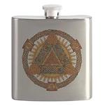 Celtic Pyramid Mandala Flask