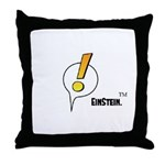 EinStein Logo Throw Pillow