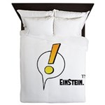 EinStein Logo Queen Duvet