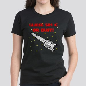Gliese 581 c Women's Dark T-Shirt