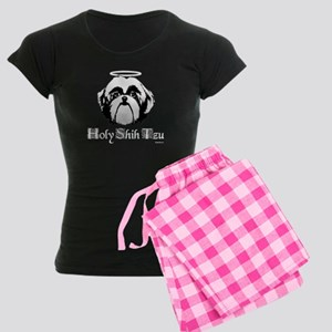 Holy Shih Tzu Women's Dark Pajamas