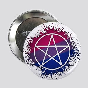 "Bisexual Pride Pentacle 2.25"" Button"