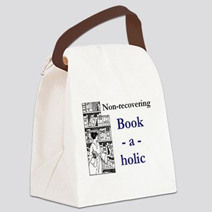 Non-recovering Book-a-holic Canvas Lunch Bag