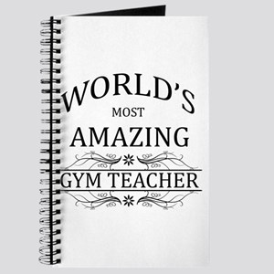 World's Most Amazing Gym Teacher Journal