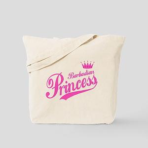 Barbadian Princess Tote Bag