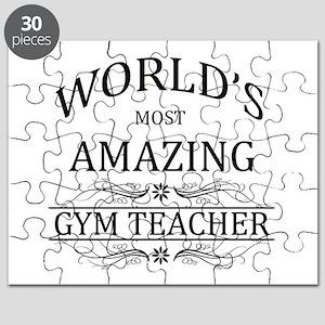 World's Most Amazing Gym Teacher Puzzle