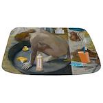 Degas: The tub nowadays Bathmat