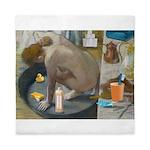 Degas: The tub nowadays Queen Duvet