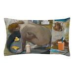 Degas: The tub nowadays Pillow Case