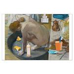 Degas: The tub nowadays Poster