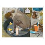 Degas: The Tub Nowadays Small Poster