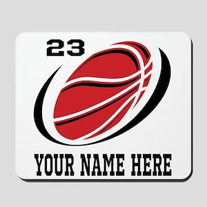 Personalized basketball Mousepad
