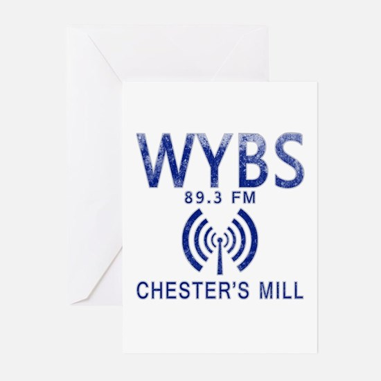 WYBS Radio Under the Dom Greeting Cards (Pk of 10)
