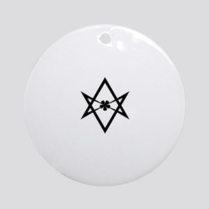 Unicursal Hexagram Ornament (Round)