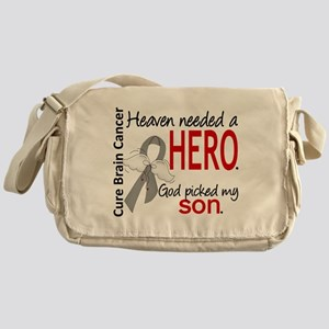 Brain Cancer Heaven Needed Hero 1.1 Messenger Bag