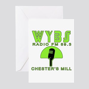WYBS FM Under the Dome Greeting Cards (Pk of 10)