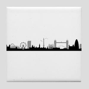 Skyline London Tile Coaster