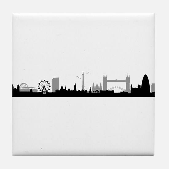 Skyline London Tile Coaster