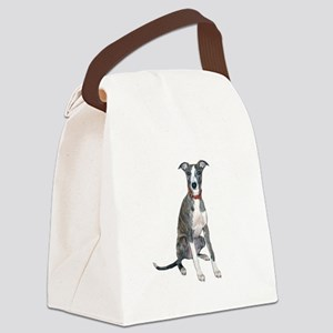 Whippet #1 Canvas Lunch Bag