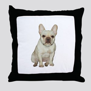 French Bulldog (#1) Throw Pillow