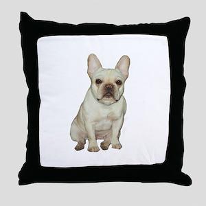 French Bulldog (#1) Throw Pillow