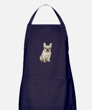 French Bulldog (#1) Apron (dark)