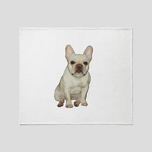 French Bulldog (#1) Throw Blanket