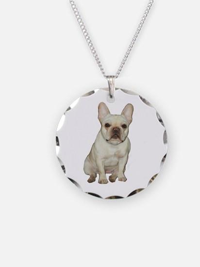 French Bulldog (#1) Necklace Circle Charm