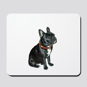 French Bulldog (blk2) Mousepad