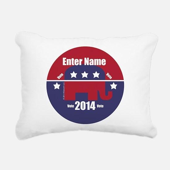 Customizable With Your Candidates Name Rectangular