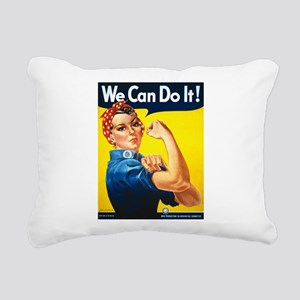 We Can Do It, Rosie the Riveter Rectangular Canvas