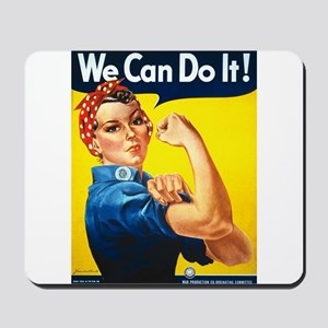 We Can Do It, Rosie the Riveter Mousepad