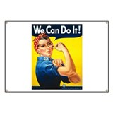 Rosie the riveter Banners