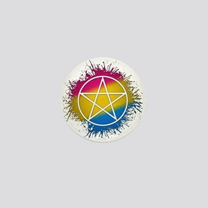 Pansexual Pride Pentacle Mini Button