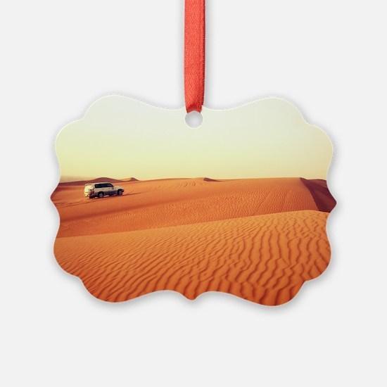 Dune Driving Ornament