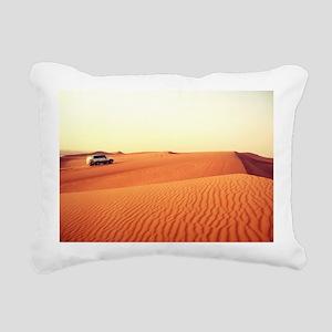 Dune Driving Rectangular Canvas Pillow